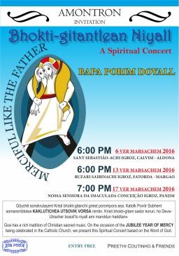Bhokti-gitantlean Niyall (Spiritual Concert)